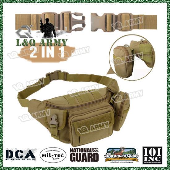Tactical Military Mens Waist Belt Bum Bag Molle Pack Pouch Fanny Phone Case