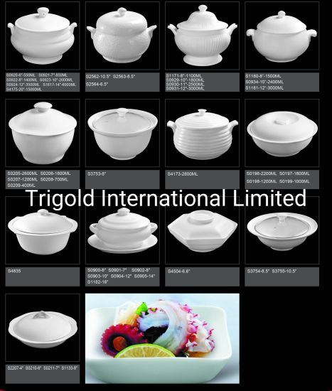 Good Quality Porcelain Soup Bowl - 05