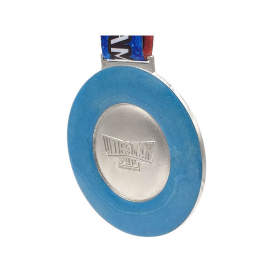 Customized Round Soft Enamel Sports Medal with Lanyard pictures & photos