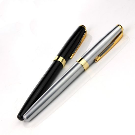 Wholes Cheap Metal Roller Ball Pen 0.5mm Rollerball Pen Office School Gift Pen