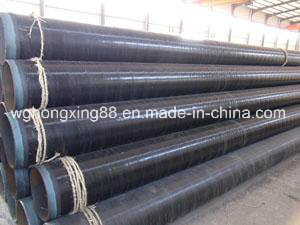 Mill Certificated Black Paint Coating ERW Steel Pipe pictures & photos