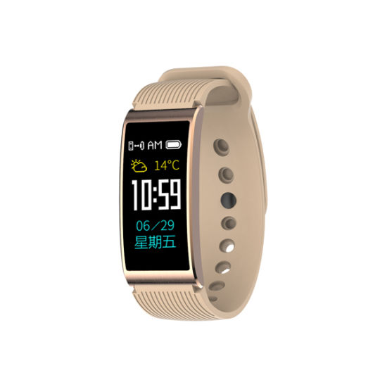 IP68 Waterproof Swimming GPS X3 Blood Pressure Heart Rate Monitor Smart Bracelet IPS Color Touch Screen Activity Tracker