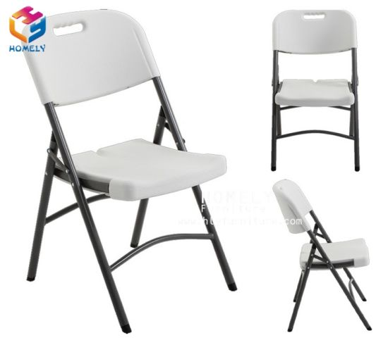 High Quality HDPE Folding Plastic Garden Chair pictures & photos