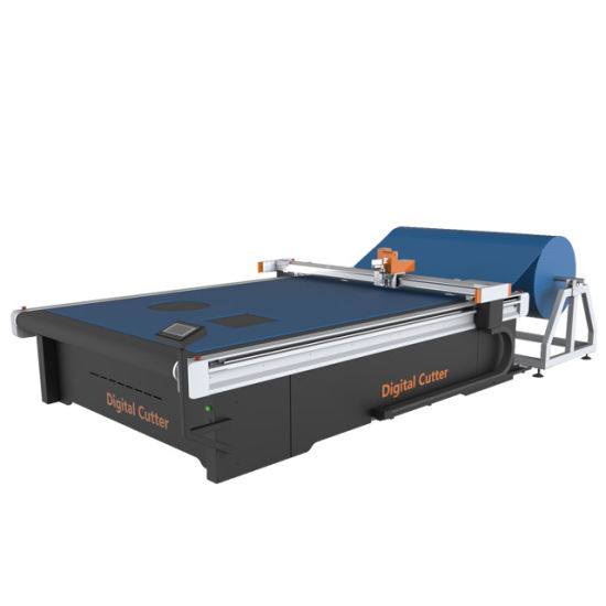 CNC Vibrating Oscillating Knife Cutter Computerized Cutting Machine for Composite Material
