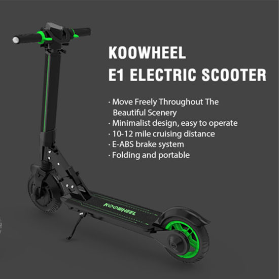 China Black Friday City off 10 Inch E-Scooter for Sale - China E