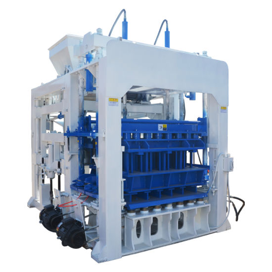 Qt10-15 Full Automatic Cement/Concrete/Sand Hollow Block/Brick Making Machine for Wholesale