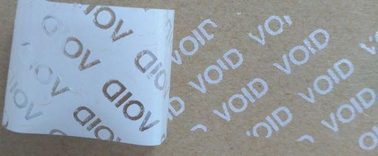 Custom Security Sticker Adhesive Open Void Transfer Void Sticker