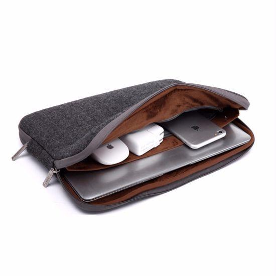 8f83f532fcaf Felt Waterproof Laptop Bag Case for MacBook PRO 13 Case Women Men 11 14 15  15.6 for MacBook Air 13 Case Laptop Sleeve Case 13.3