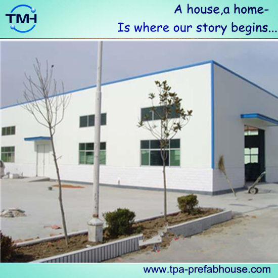 China Fabricated Steel Frame Structure for Workshop - China Steel ...