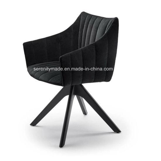 Incredible Modern Brandon Velvet Upholstered Fabric Dining Chair With Wooden Legs Ibusinesslaw Wood Chair Design Ideas Ibusinesslaworg