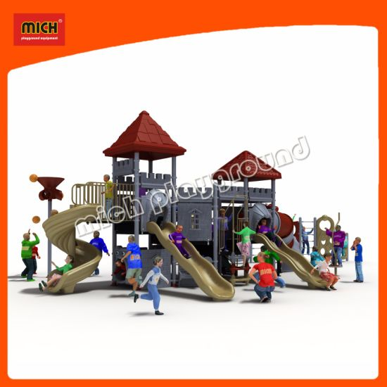 Hot Outdoor Playground Equipment with Slide and Swing