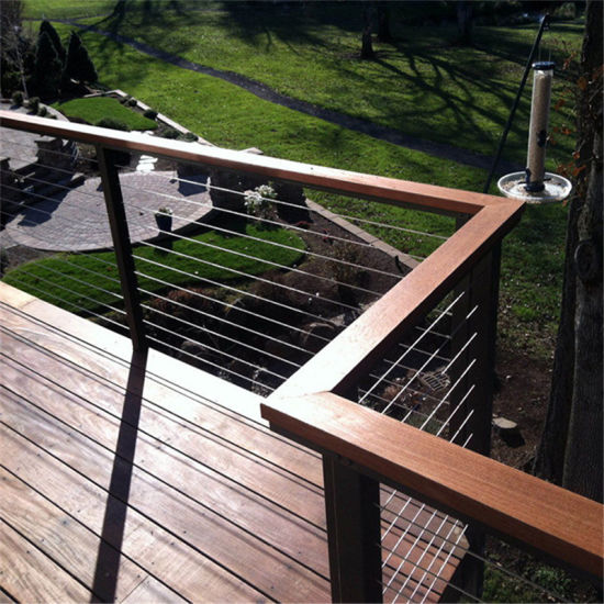 Deck Cable Rails Wire Railing Systems Stainless Steel Front