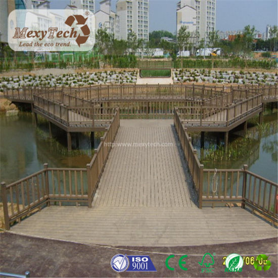 Guangdong Supplier Low Price Multi Color Fireproof Outdoor WPC Composite Decking pictures & photos