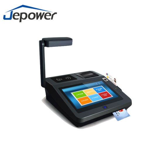 "7"" Android System Contactless Card Payment POS Terminal with EMV Certificate pictures & photos"