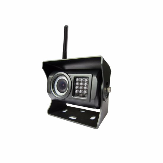 2CH Wireless Security System with IP69k Waterproof Camera for Truck, Bus, Farm Tractor, Cultivator, Trailer pictures & photos