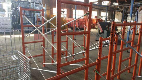 H Frame Scaffolding System Mason Scaffolding Frames for Building