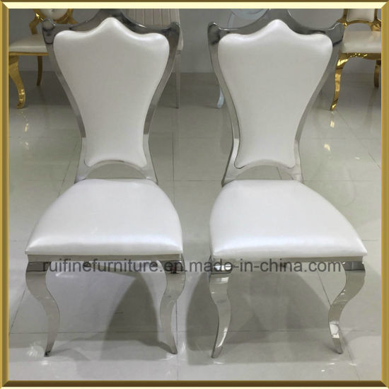 Foshan Modern Chrome Royal King Throne Dining Chair For Event Wedding