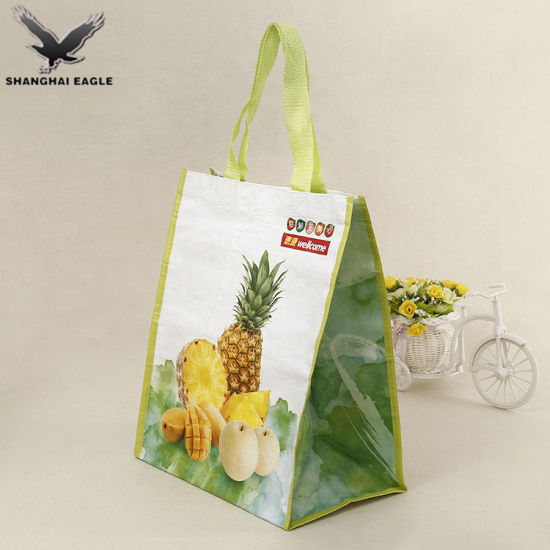 China Shanghai Factory PP Woven Bag Manufacturers pictures & photos