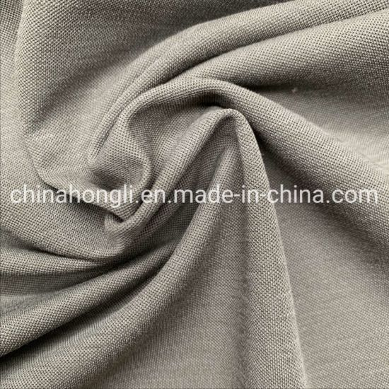 Pique Knitting Fabric 54%Nylon 39%Cotton 7%Spandex, 220GSM for Polo