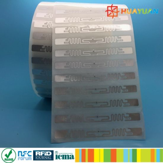 Identification NFC Adhesive Label for Logistics Management pictures & photos