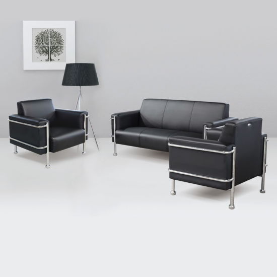 leather office couch. Modern Modular Sofa Office Furniture Design Single Seat Leather Set Couch