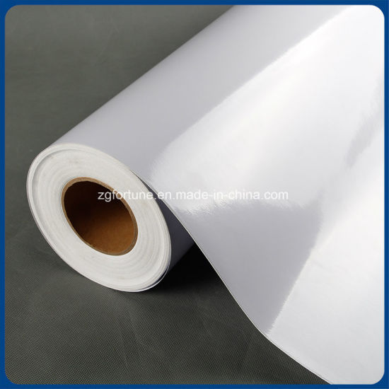 image relating to Printable Vinyl for Inkjet Printers named White PVC Printing Vinyl Media/WhiteGlossy Self Adhesive Vinyl Motion picture, Print Media/Inkjet Print Media PVC Vehicle Wrap Vinyl Sticker