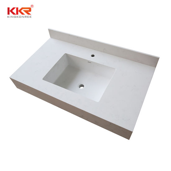 Aritificial Stone Corian Solid Surface Bathroom Vanity Top China Corian Vanity Top Bathroom Vanity Top Made In China Com