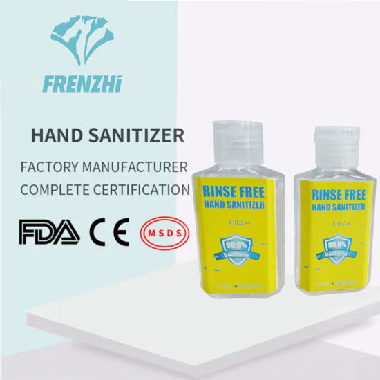 Portable 75% Alcohol Hand Sanitizer Gel for Personal Disinfection
