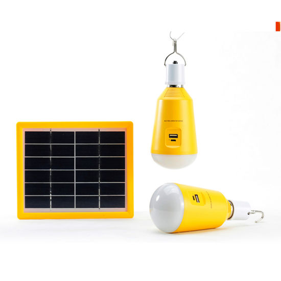 China Rechargeable Solar Lighting Kits