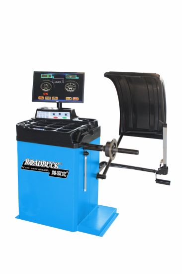 Factory Auto Shop High Speed Car LCD Display Tyre Balancer