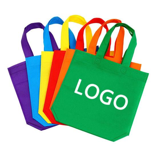 Wholesale Direct Factory Custom Logo Printing Heavy Duty Reusable Eco-Friendly Hot Sealing Non Woven Shopping Tote Bag