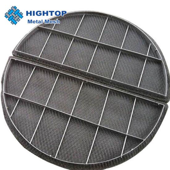 Titanium Gas Scrubber Air Wire Mesh for Demister Filter