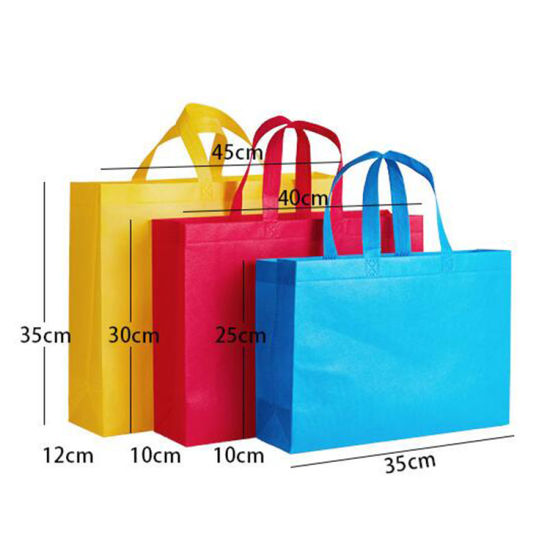 Wholesale Factory High Quality Durable Custom Printing Logo Reusable Recycled Biodegradable Non-Woven Shopping Bag