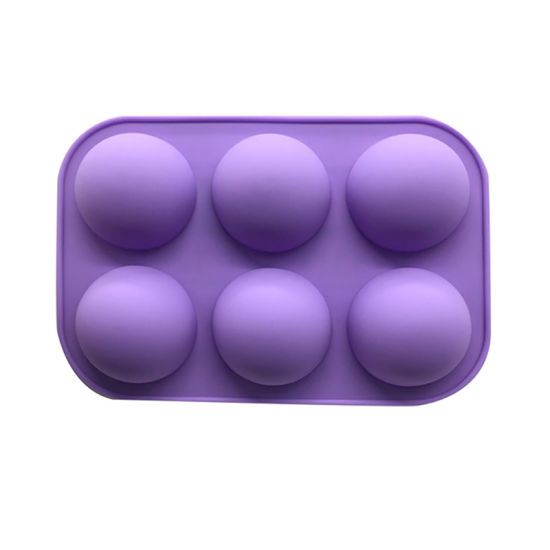 Silicone Pudding Jelly Chocolate Fondant Mould Ball Shape Biscuit Tool