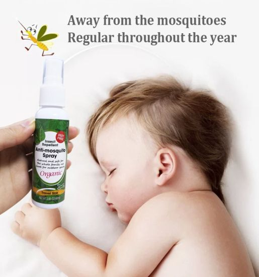 Deet Free Safe Natural Baby Insect Citronella Protection Anti Mosquito Spray Mosquito Repellent