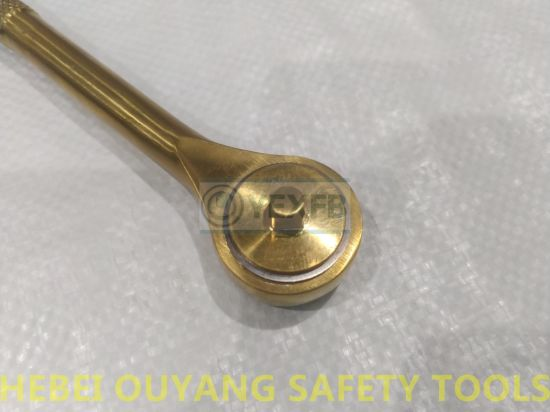 Non-Magnetic Titanium Hand Tools Ratchet Spanner/Wrench