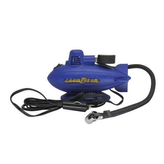 Portable Plastic Electric Air Compressor Air Pump Tyre Inflator