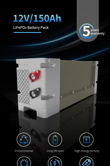 LiFePO4 High Quality Deep Cycle Battery Lithium LiFePO4 12V/24V/48V Solar Battery