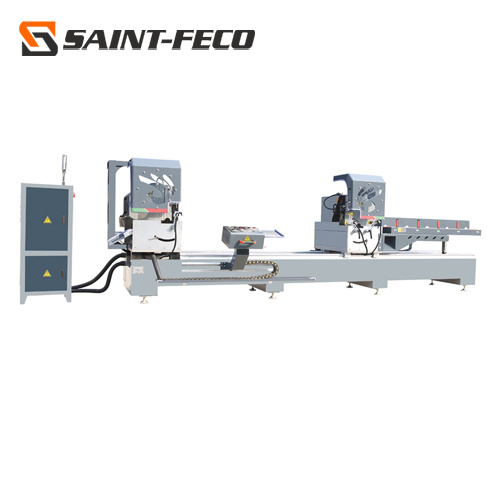 High Precision Digital Display CNC Aluminum Double Heads Double Head Window Cutting Saw Machinery