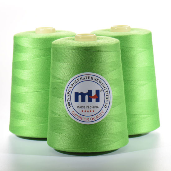Wholesale Dyed 100% Spun Polyester Sewing Thread 20s/3 3000yds