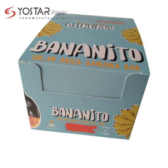 Customized Printing White Cardboard Paper Box for Food Display Packing
