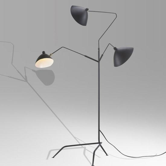 China Designer Fancy Luxury Black Modern Floor Lamps Tripod Floor Light For Hotel And Office China Modern Fashion Led Floor Lamp Floor Light