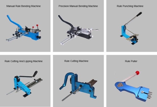 Precision Manual Steel Rule Blade Bending Machine for Die Making