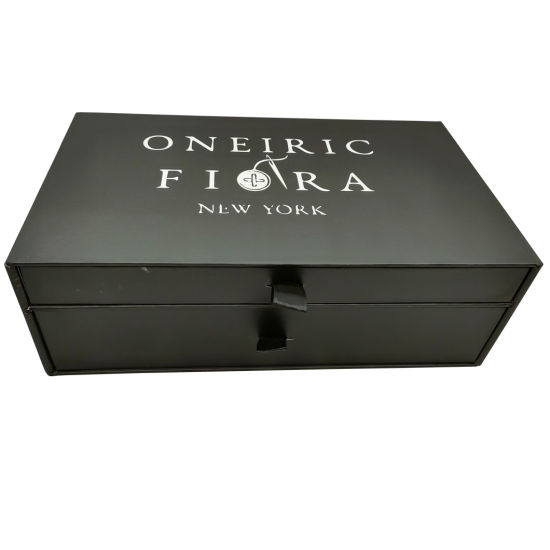 Double Drawer Paper Packaging Gift Box
