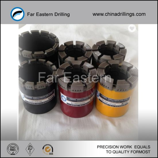 Factory of Lowest Price Impregnated Diamond Core Exploration Drill Bit pictures & photos