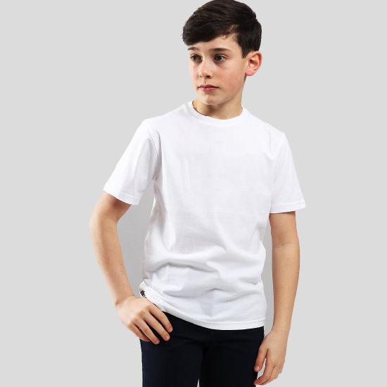 Good Quality Organic Cotton Children's T-Shirt with Custom Logo