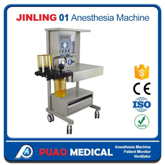 Basic Surgical Instruments, Anaesthesia Machine Jinling-01 Model