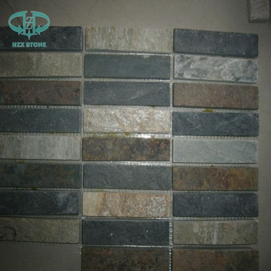 Black Slate, Green, Rusty, Yellow Culture Stone Slate pictures & photos