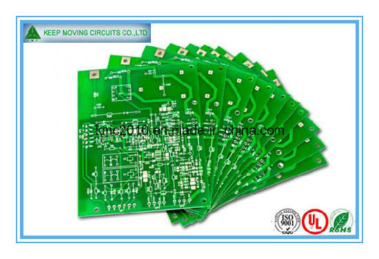 Green Fr4 2-Layer PCB High Volume Good Price pictures & photos