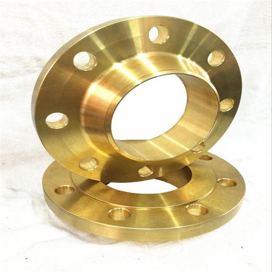 ASME/DIN/JIS Forged Wnrf Brass Flanges